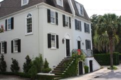 Stately Mansions in Charleston. South Carolina royalty free stock images