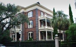Stately Mansions in Charleston. South Carolina stock photo