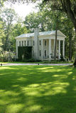 Stately southern home. With well manicured lawn Stock Images