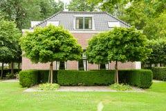 Stately villa Royalty Free Stock Photo