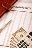 Statement Report Stock Photos