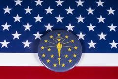 Staten av Indiana i USA arkivfoto