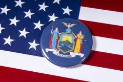 Staten av New York royaltyfria bilder