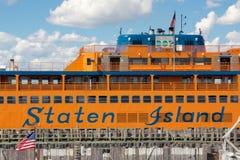 Staten Island Ferry Fotografia Stock