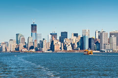 Staten Island Ferry, de Stad van New York, de V.S. Stock Afbeeldingen
