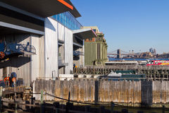 Staten Island Ferry Docks Royalty Free Stock Image