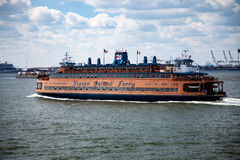 Staten island ferry Royalty Free Stock Images