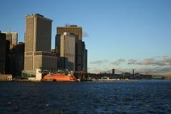 Staten Island ferry Manhattan Royalty Free Stock Photos