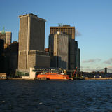 Staten Island ferry Manhattan Royalty Free Stock Photography