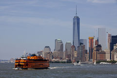 Staten Island Ferry - New York City, Lower Manhattan (2015) Stock Photography