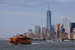 Staten Island Ferry - New York City, Lower Manhattan (2015) Stock Photography