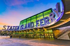 Staten Island Ferry Royalty Free Stock Photo