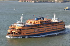 Staten Island Ferry in New York Stock Photos