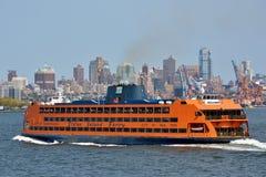 Staten Island Ferry, NYC Immagine Stock