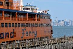 Staten Island Ferry, NYC Immagine Stock Libera da Diritti