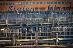 Staten Island Ferry NYC Royalty Free Stock Photography