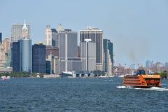 Staten Island Ferry, NYC Stock Photo