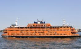 Staten Island Ferry, NYC, U.S.A. Fotografia Stock Libera da Diritti