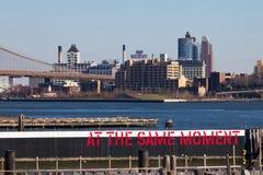 Staten Island Ferry Scene New York Stock Images