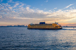 Staten Island Ferry Stock Photo