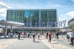 Staten Island Ferry Whitehall Terminal Stock Photos