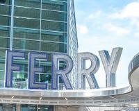 Staten Island Ferry Whitehall Terminal Royalty Free Stock Photos
