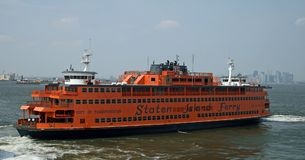 Staten island frerry royalty free stock photos