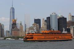 Staten Island prom w Nowy Jork schronieniu zdjęcia royalty free