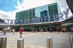 Staten Island promu stacja NYC obrazy royalty free