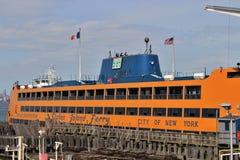 Staten- Islandfähre Stockfoto