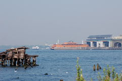 Staten- Islandfähre, New York City Stockbilder