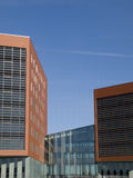 Stater building. New office building in vathorst amersfoort, the netherlands Royalty Free Stock Photos