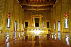 Stateroom in Grand Palace. Of Thai Majestic Stock Images