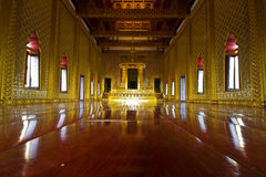 Stateroom in Grand Palace. Of Thai Majestic Royalty Free Stock Photo