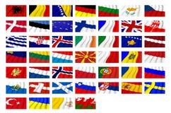 Stati europei Fotografia Stock Libera da Diritti