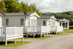 Static caravan Holiday Park Royalty Free Stock Image