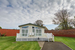 Static Caravan Stock Photo