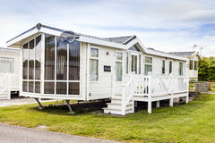 Static Caravan Stock Images