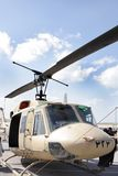 Static display of Bell 212 , Bahrain Airshow 20120 Stock Image