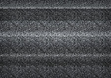 Static tv noise, bad tv signal, black and white, monochrome Royalty Free Stock Photo