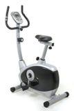 stationär cykelidrottshallmaskin Royaltyfri Bild