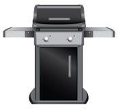 Stationärer Grill stock abbildung