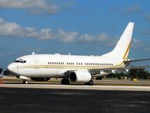 Stationäres Flugzeug Stockbild