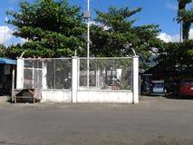 Station électrique à Philippines photographie stock libre de droits