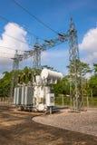 Station électrique Images stock