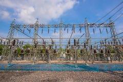 Station électrique Image stock