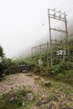 Station électrique sur la colline Images stock