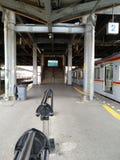 station Arkivbild