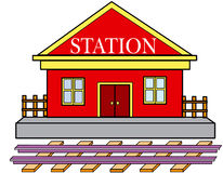Station Royalty Free Stock Photography