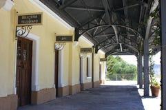 station 7 Arkivbild
